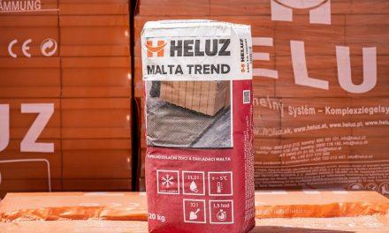 Zimné malty a murovacia pena HELUZ predlžujú stavebnú sezónu