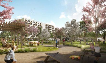Nová obytná štvrť Ovocné sady v bratislavskej Trnávke poskytne viac ako tisíc bytov