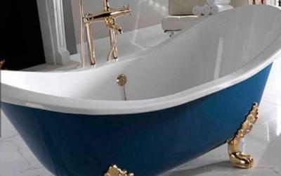 Samostatne stojaca vaňa vytvorí v kúpeľni luxusný wellness pocit