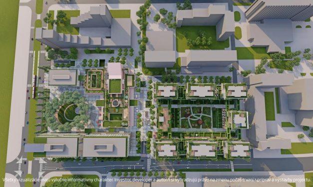 Po dvadsiatich rokoch sa namiesto rozpadnutého OC Ružinov dočkáme nového centra Ružinova