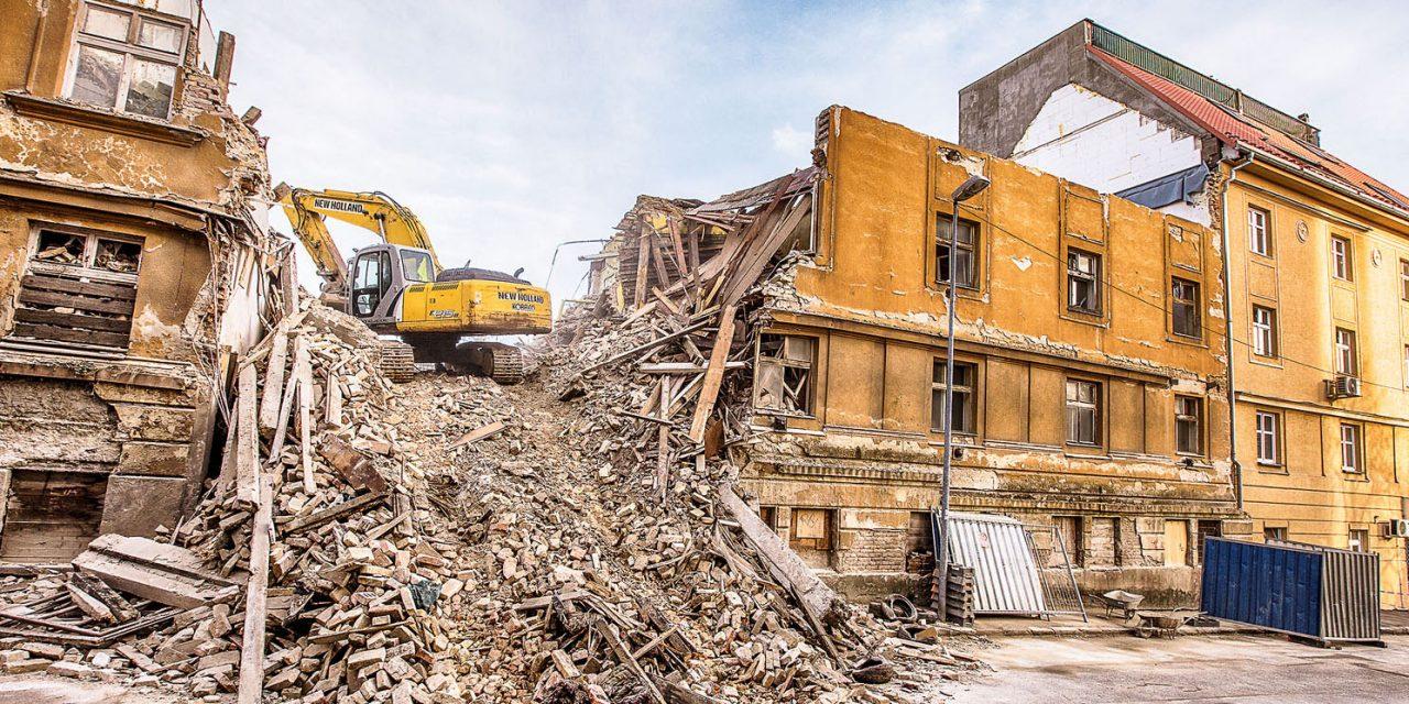 Aj zbúrané budovy sa dajú recyklovať. U nás sa to zanedbáva