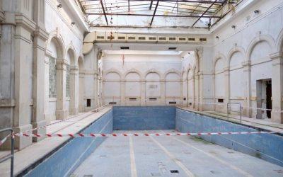 Kúpele Grössling sú o kúsok bližšie k záchrane. Mesto vypísalo architektonickú súťaž