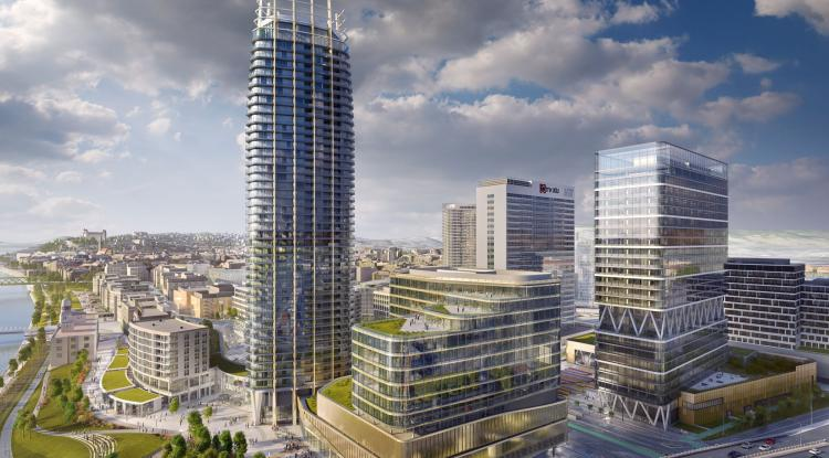 JTRE si vybrala zhotoviteľa mrakodrapu. Je to firma výbohovcov
