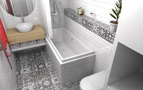 15 trikov, ako naoko zväčšiť kúpeľňu: Poznali ste fintu s dlaždicami?