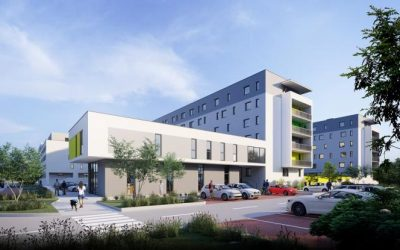 Rezidencia Hron spustila výstavbu druhej etapy, pridá 83 bytov