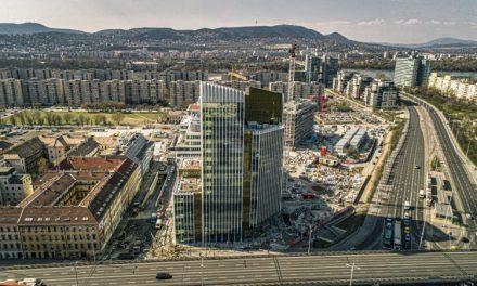HB Reavis dokončuje prvú etapu komplexu Agora v Budapešti. Získal doň nového nájomcu
