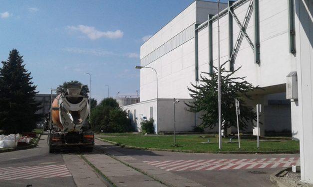 Bazén mokrej fragmentácie tlakovej nádoby reaktora v Jaslovských Bohuniciach
