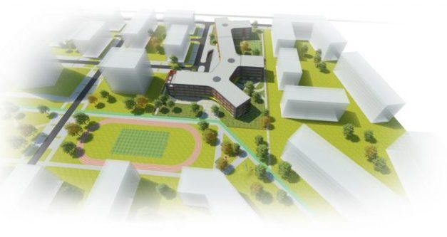 VIZUALIZÁCIE: V Slnečniciach v Petržalke vyrastie moderná škola so škôlkou, takto budú vyzerať