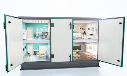 Vetracie jednotky Systemair Geniox sú teraz dostupné aj v hygienickom vyhotovení