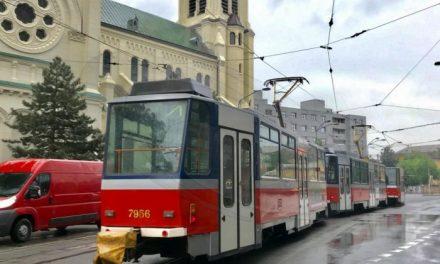 S rekonštrukciou električkovej trate pri Blumentáli čoskoro začnú, v rovnaký deň začnú premávať aj električky do Rače