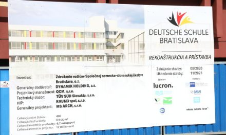 Na Bárdošovej ulici vznikne súkromná nemecká škola za 12 miliónov eur