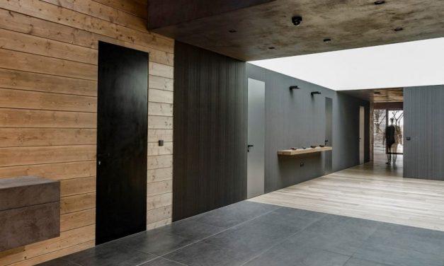 Skrytá zárubeň a dveře Dorsis zajistí akustický útlum v noční zóně bytu