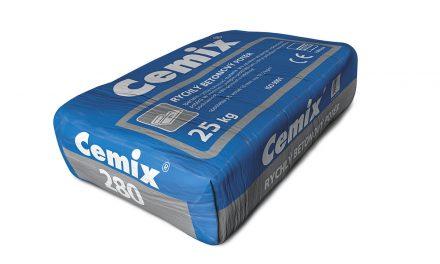 Ponuka novinky od firmy Cemix: Rýchly betónový poter 280