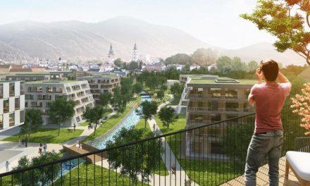 Investor pokročil v pláne premeny bývalej textilky Slovenka v Banskej Bystrici na obytnú štvrť