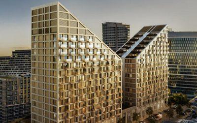 Projekt Metropolis prinesie dve výškové budovy do bratislavského downtownu