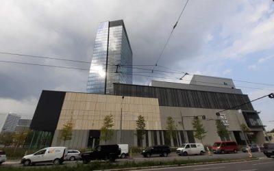 Na Nivách v Bratislave vyrástla najvyššia budova na Slovensku. Technický štandard je vysoký