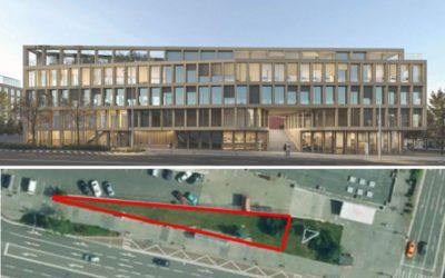 Nitrania kritizujú mesto, dôvodom je schválenie výstavby na mieste zelene vedľa bývalého OD Tesco