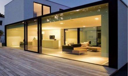Využitie skla v stavebníctve