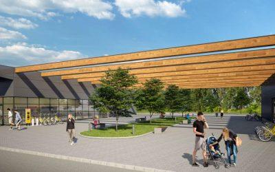 Pri Zvolene rastie zelené obchodné centrum aj dubová alej