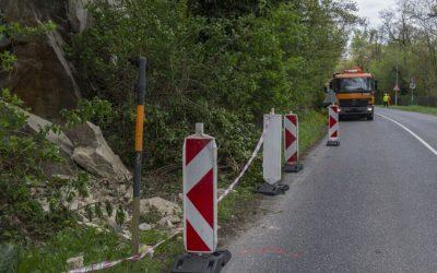 Z eurofondov sa budú opravovať cesty po zosuvoch pôdy