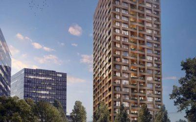Bytová veža Discovery Residence je pred dokončením. Ráta s drobnými zmenami v stavbe