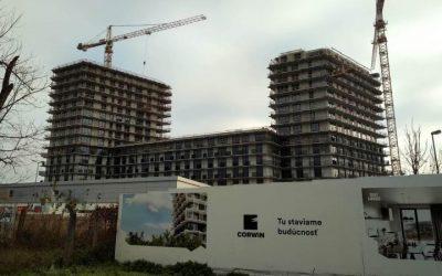 Rezidenčný projekt Guthaus v bratislavskom Novom Meste bude kolaudovať možno už tento rok