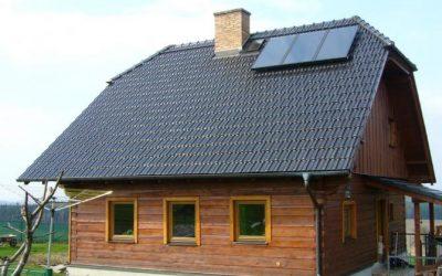 Kolektory a ich vplyv na energetickú triedu pri rodinných domoch