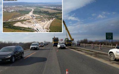 Na diaľnici D1 vás čakajú dopravné obmedzenia, súvisia s výstavbou križovatky D1/D4 Bratislava – východ