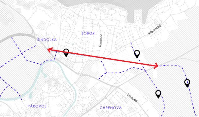 V návrhu na nový územný plán je aj tunel pod Zoborom, tadiaľto by mal ísť