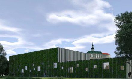 Medzi futbalovým štadiónom a riekou Nitra by mala vyrásť nová športová hala