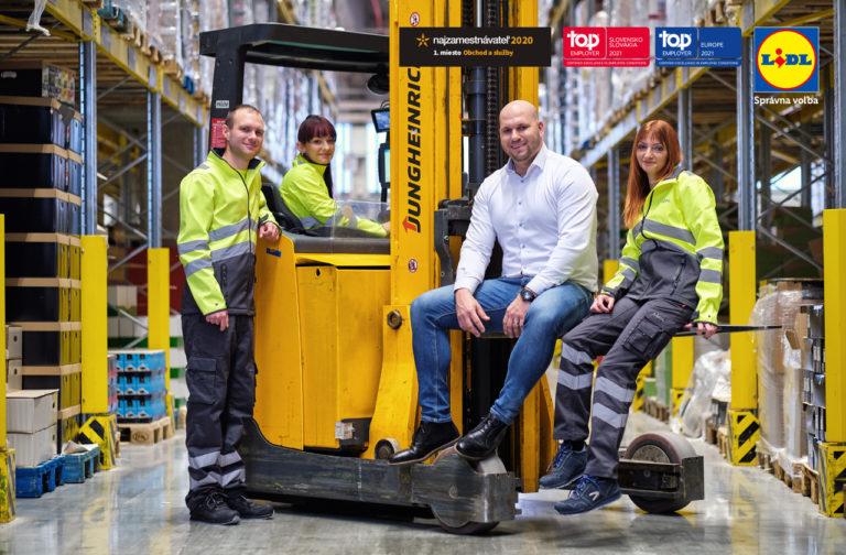 Lidl rozširuje logistické centrum v Seredi a vytvára nové pracovné miesta