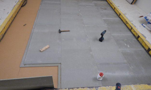 Novinka – podlahové prvky z cementotrieskových dosiek CETRIS®