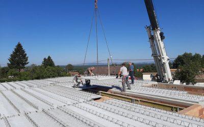 Filigránové stropy zaručujú rýchly a teda hospodárny postup výstavby