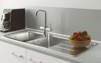 Schell predstavuje nové kuchynské armatúry Grandis E
