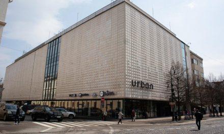 Obchodný dom Urban v centre Košíc po obnove znovu funguje