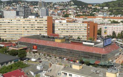 Budova Tržnice na Trnavskom mýte sa začína postupne revitalizovať