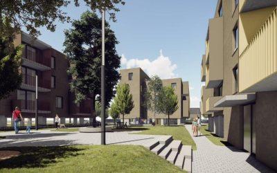 Rozvoj Miloslavova pokračuje. Vo Vila bytoch stavajú prvé tri bytovky zo šiestich