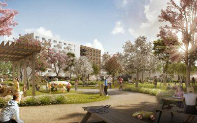 V druhej etape Ovocných sadov pridajú vyše 350 bytov. Stavba začne na jeseň
