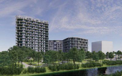 Pri Chorvátskom ramene v Petržalke má vyrásť nové centrum mestskej časti