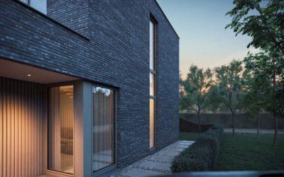 Okenný profil pre modernú architektúru