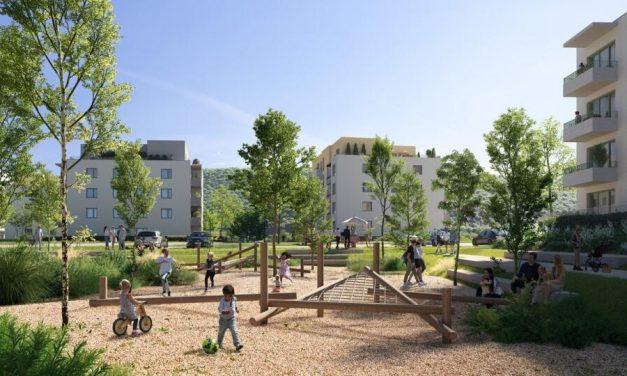 V projekte Rakyta v Devínskej Novej Vsi má byť mestské bývanie v nižších bytovkách