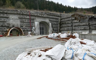 Práce na tuneli Višňové napredujú, betónujú nosnú konštrukciu