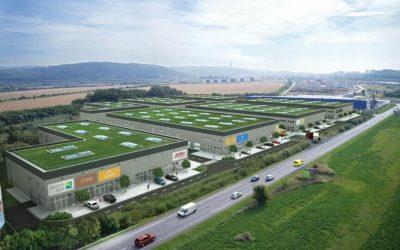V Bratislave stavajú park Squarebizz Bory, environmentálne šetrný koncept pre menšie firmy