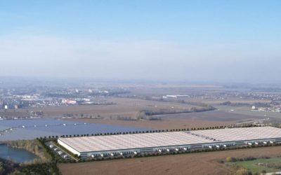 V priemyselnom parku Panattoni v Košiciach stavajú novú budovu