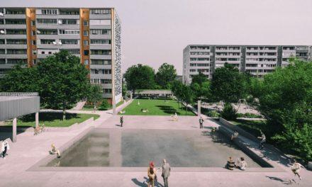 Zanedbaný priestor v okolí Domu služieb vbratislavskej Dúbravke plánujú obnoviť