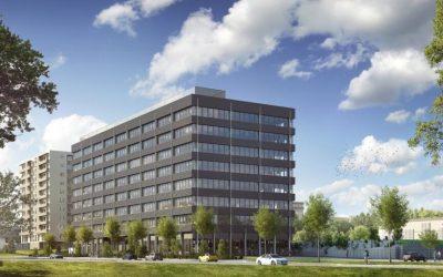 V žilinskej biznis zóne stavajú druhú kancelársku budovu Obchodná 1