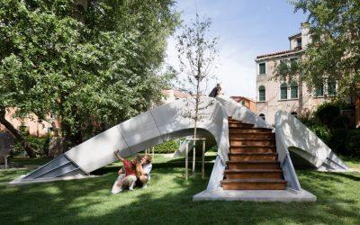 Ekologická lávka od Zaha Hadid Architects nepotrebuje maltu ani výstuž