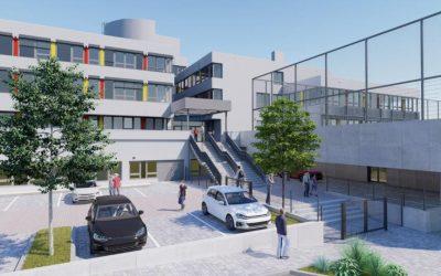 Celkové investície do tejto školy je približne 12 miliónov eur. Z kongresovej sály Ústavu vzdelávania a služieb bude študovňa.
