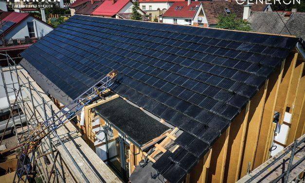 Terran Generon – solárna škridla, ktorá znižuje náklady