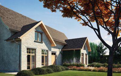 5 dizajnov krídel + 50 farieb = harmónia okien a dverí na stavbe